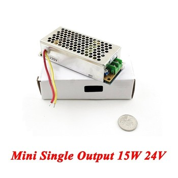 MS-15-24 Mini Type ac-dc converter switching power supply 15W 24V 0.7A Single Output for Led Driver,watt 110V/220V to 24V