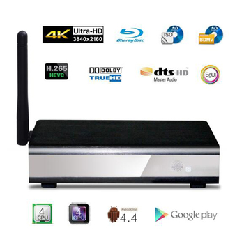 Egreat R6S-II 4 K UHD Media Player Akıllı Android TV Kutusu, destek DVD-ISO BD-ISO, dolby Digital Plus, Dolby Ture-HD, DTS DTS-HD MA