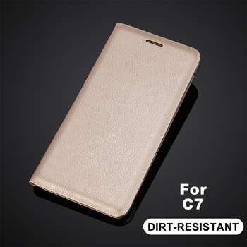 For Samsung Galaxy C7 Flip Leather Case With Card Slot Card Holder Cover Case for Samsung C7 Wallet Flip Protector For SM-C7000