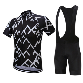 FUALRNY Polyester Nefes Bisiklet Jersey seti 2018 Yeni Mountian Bisiklet Spor Bisiklet Giyim Maillot Ropa Ciclismo