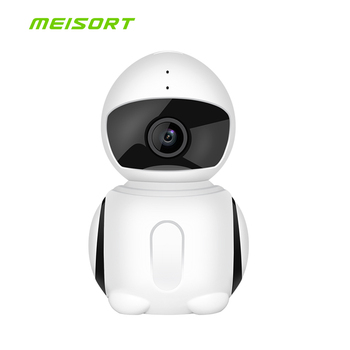 Meisort 720 p HD Wifi Mini IP Camera180 Derece Ev Güvenlik Kablosuz P2P Wifi IP CCTV Kamera 1.3MP Video Gözetim kamera